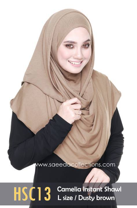 SHAWL COTTON CAMELIA HSC13