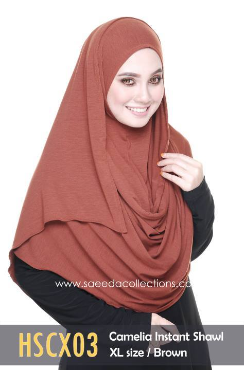 SHAWL COTTON CAMELIA HSCX03