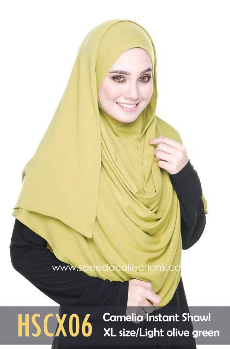 SHAWL COTTON CAMELIA HSCX06