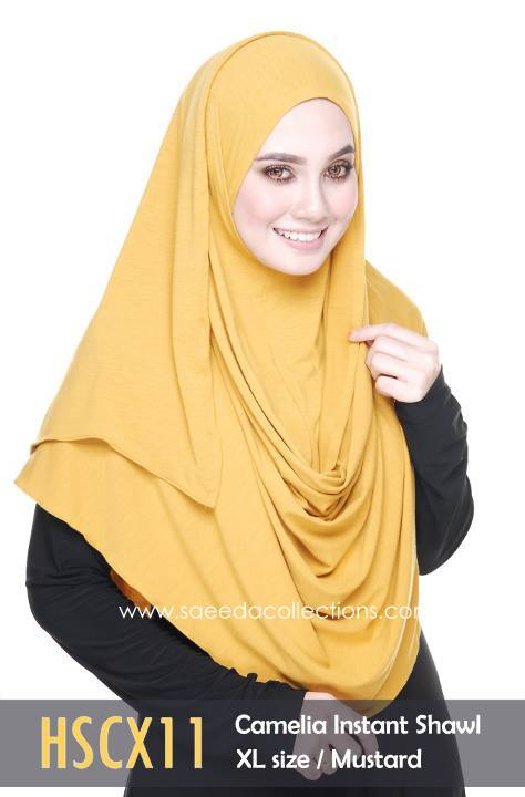 SHAWL COTTON CAMELIA HSCX11