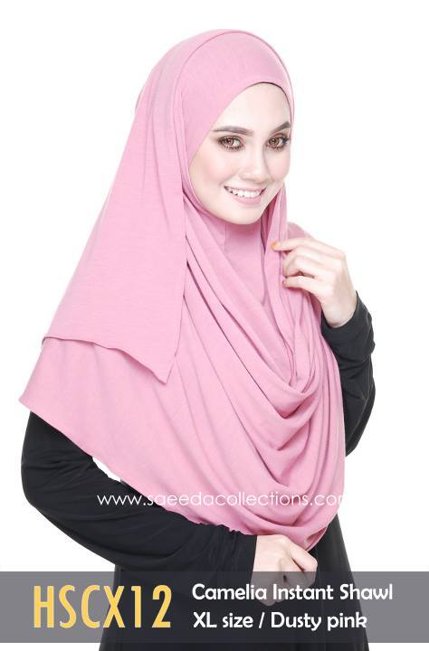 SHAWL COTTON CAMELIA HSCX12