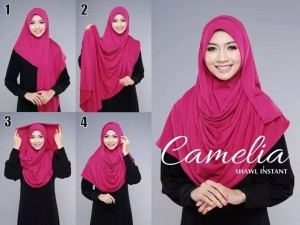 SHAWL COTTON CAMELIA TUTORIAL