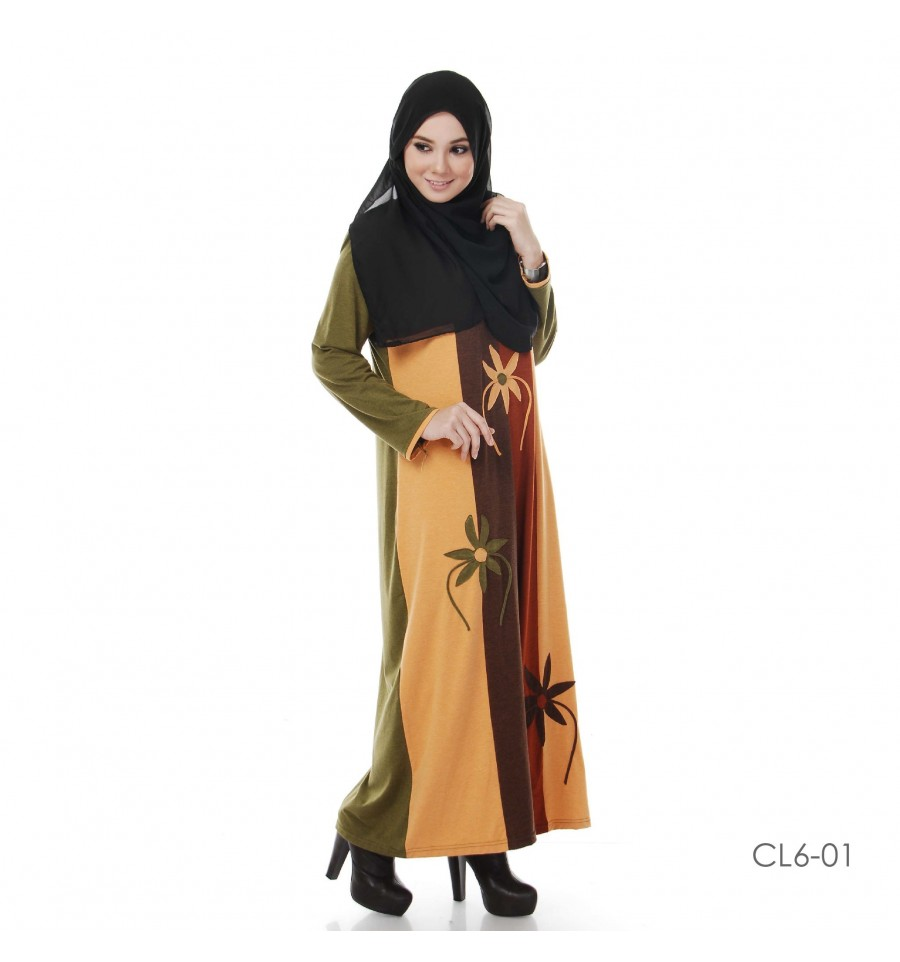 JUBAH COTTON BAMBOO LILLY CL6-01