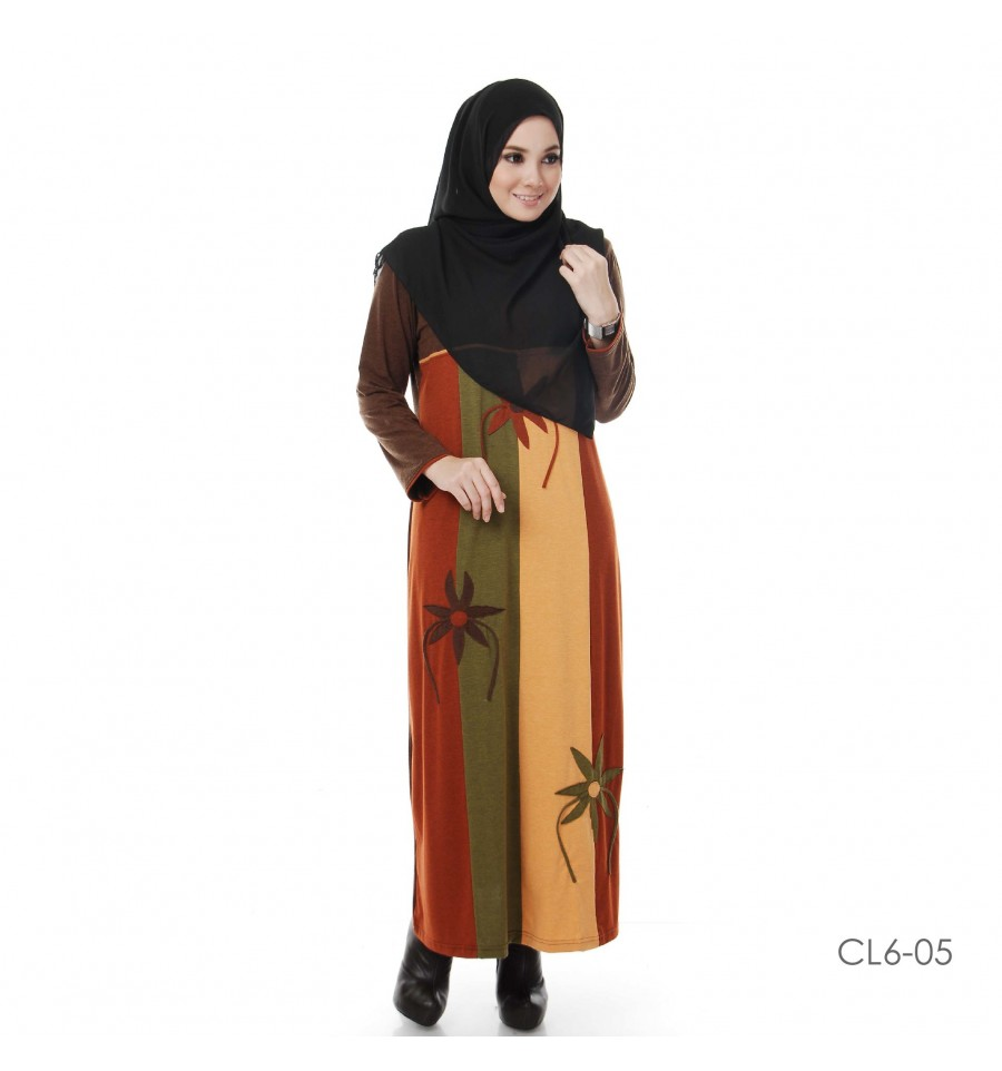 JUBAH COTTON BAMBOO LILLY CL6-05