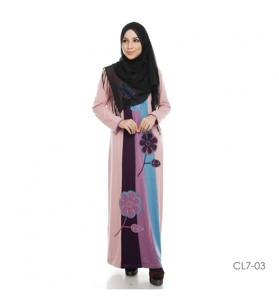 JUBAH COTTON BAMBOO LILLY CL67-03