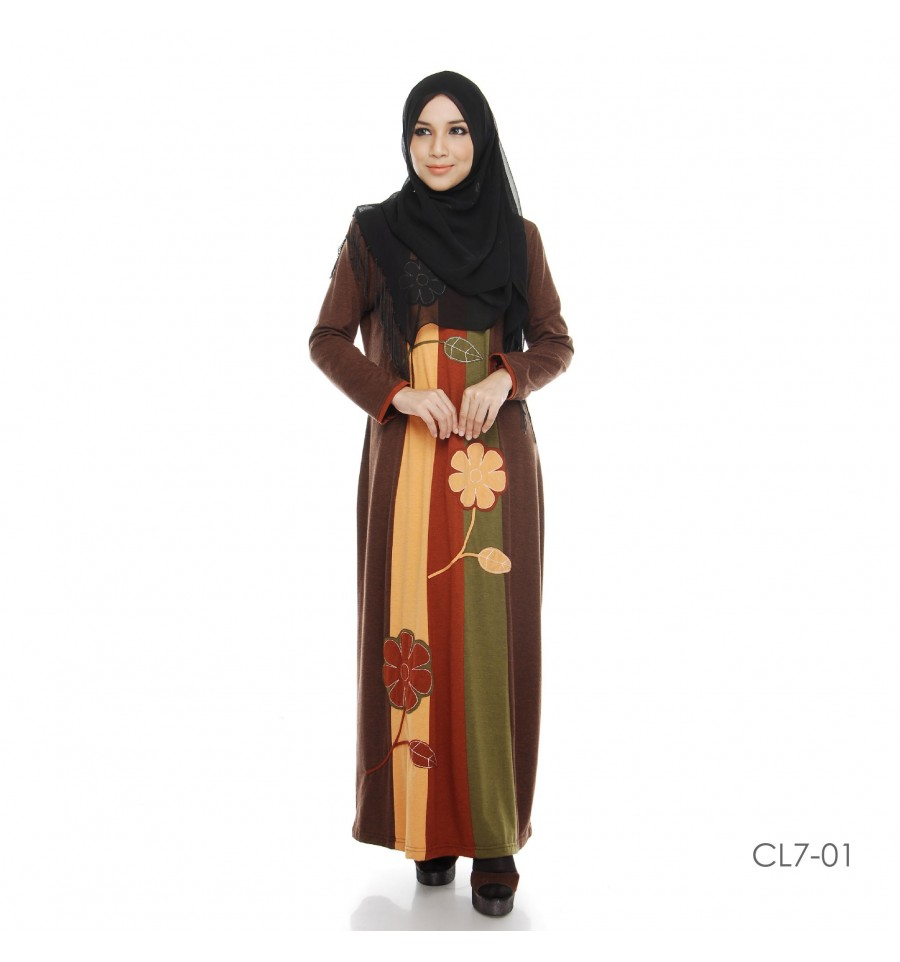 JUBAH COTTON BAMBOO LILLY CL7-01