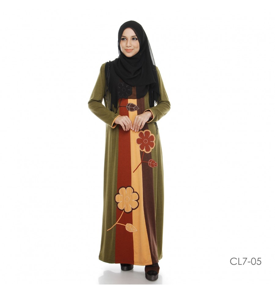 JUBAH COTTON BAMBOO LILLY CL7-05