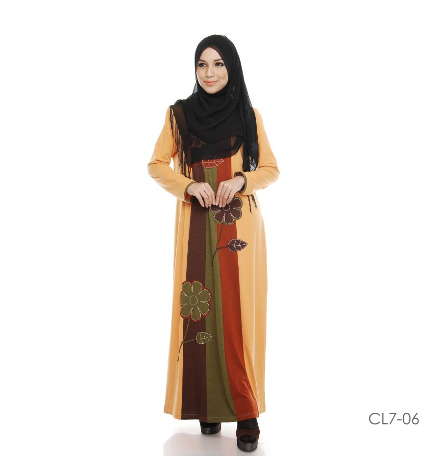 JUBAH COTTON BAMBOO LILLY CL7-06