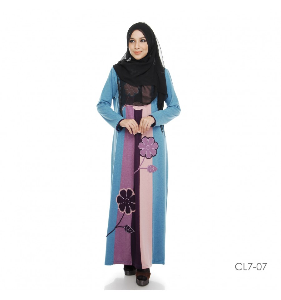 JUBAH COTTON BAMBOO LILLY CL7-07
