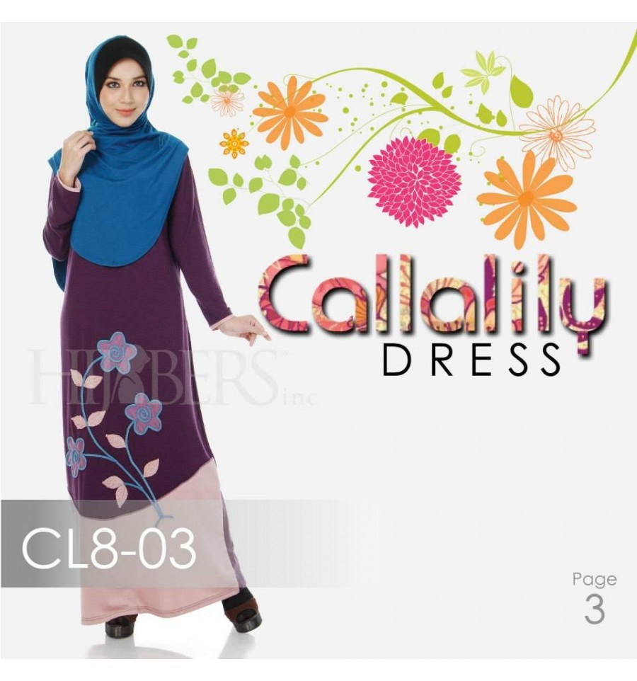 JUBAH COTTON BAMBOO LILLY CL8-03