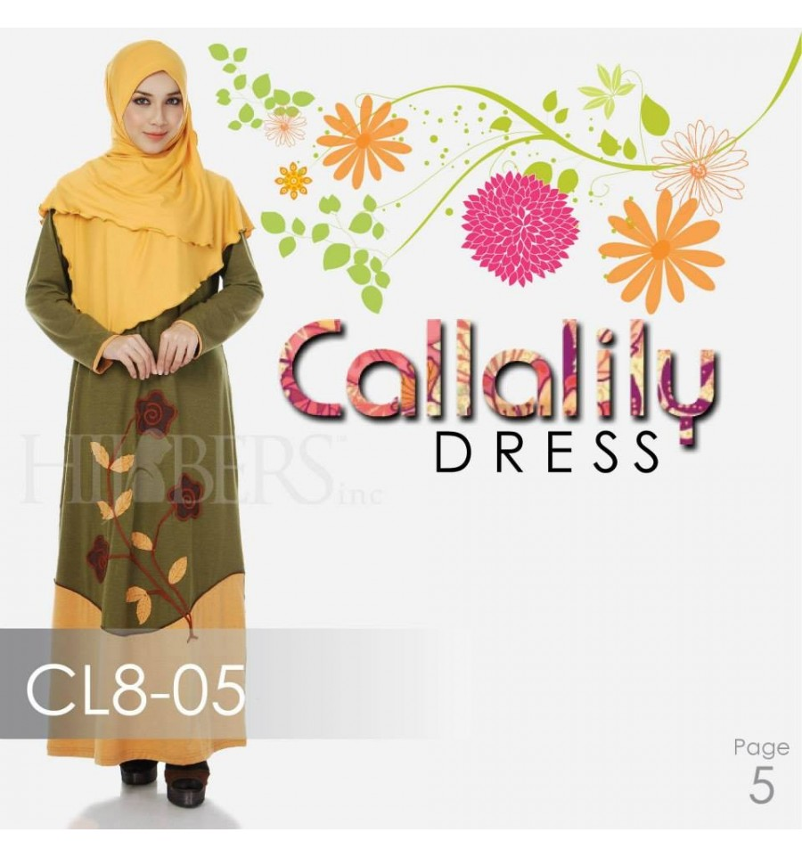 JUBAH COTTON BAMBOO LILLY CL8-05