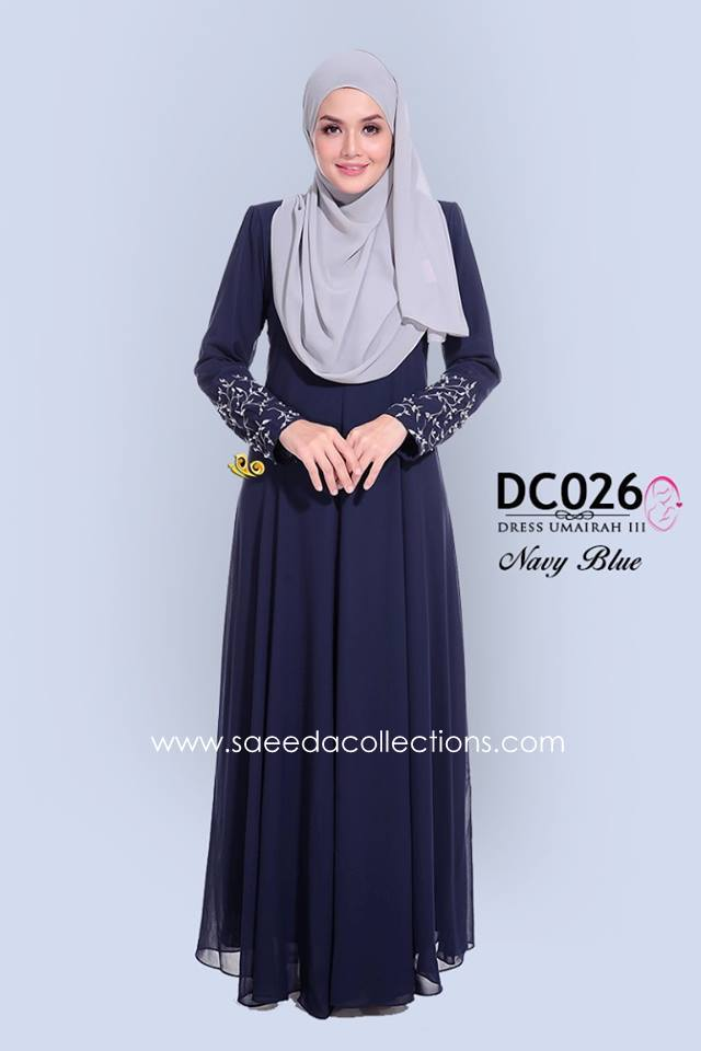 DRESS CHIFFON UMAIRAH DC026