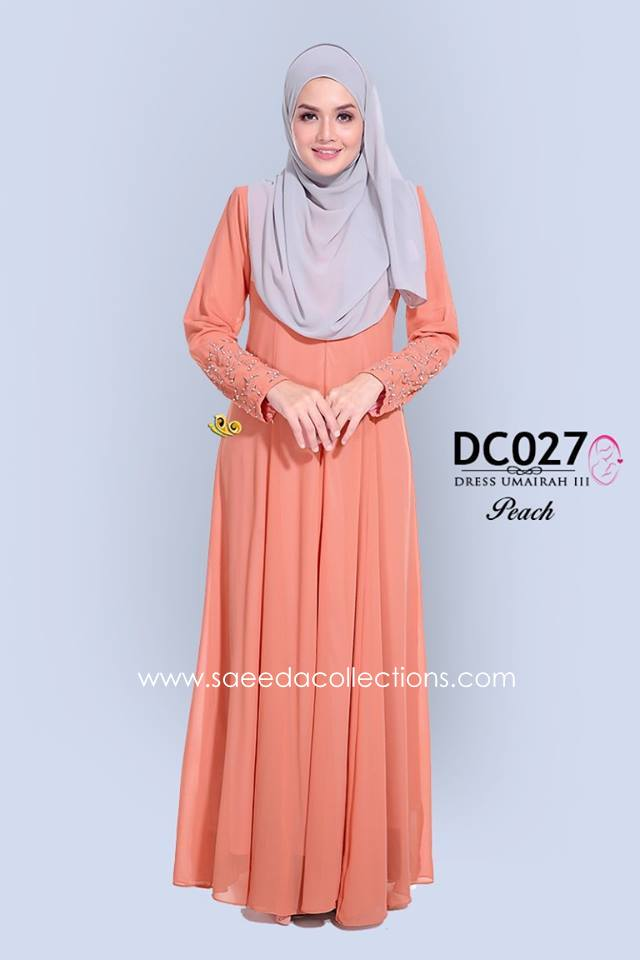 DRESS CHIFFON UMAIRAH DC027