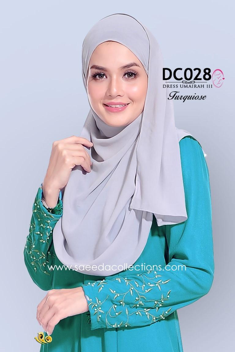 DRESS CHIFFON UMAIRAH DC028 AA
