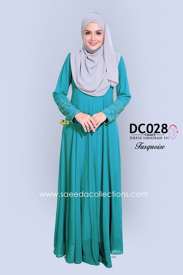 DRESS CHIFFON UMAIRAH DC028