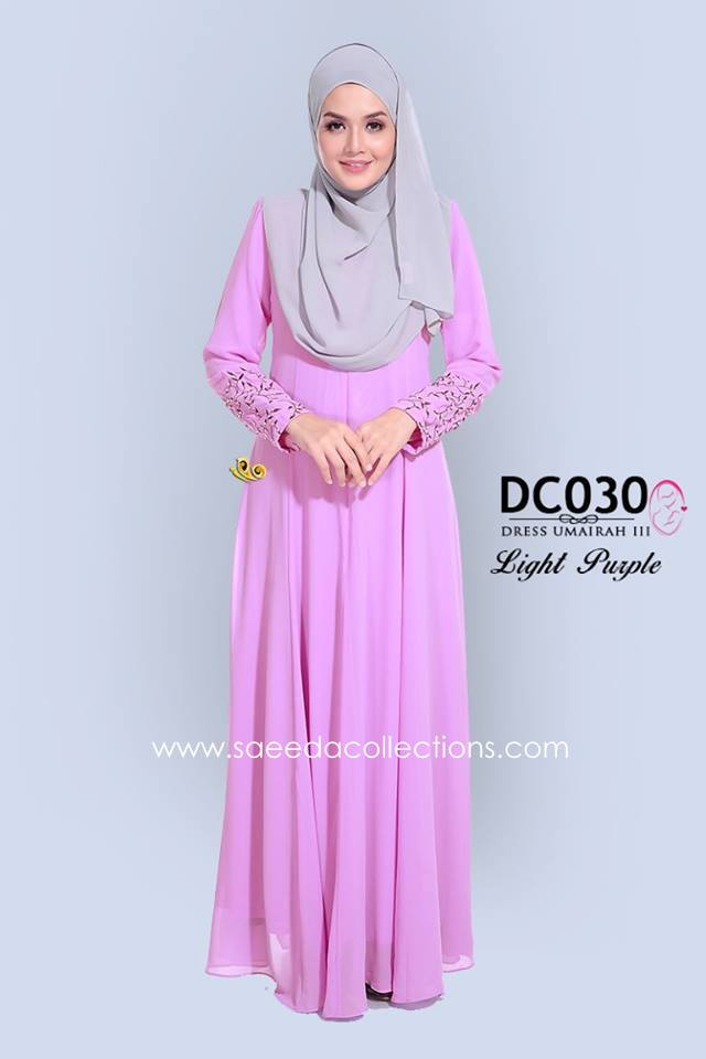 DRESS CHIFFON UMAIRAH DC030