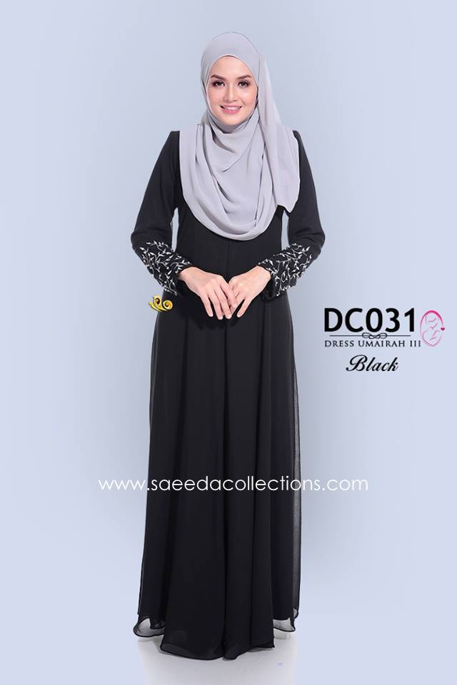 DRESS CHIFFON UMAIRAH DC031