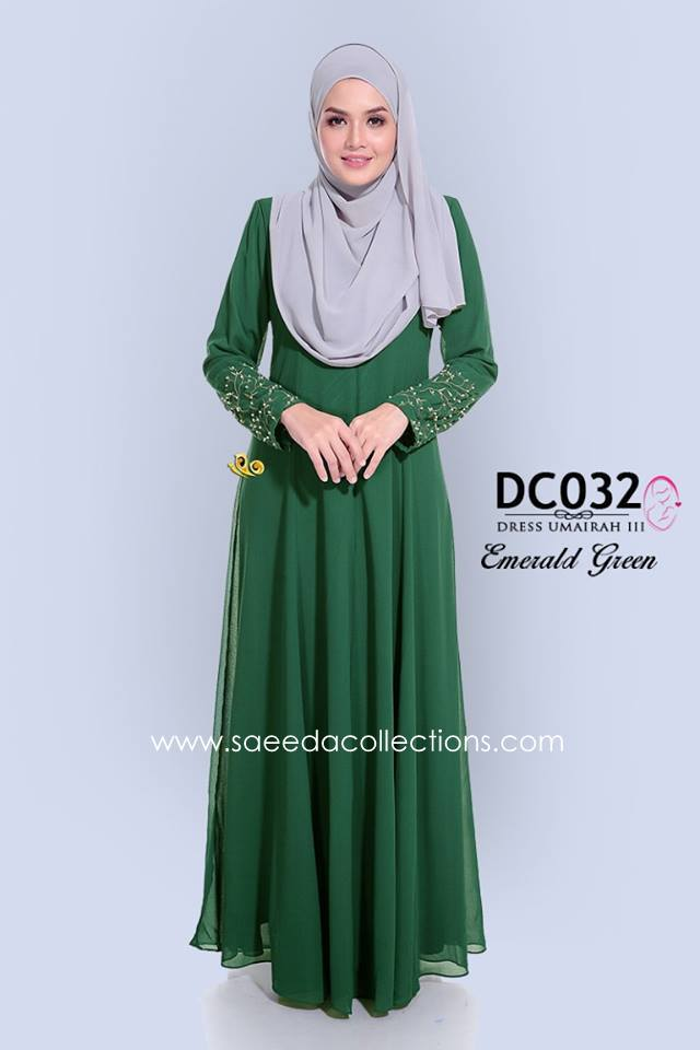 DRESS CHIFFON UMAIRAH DC032