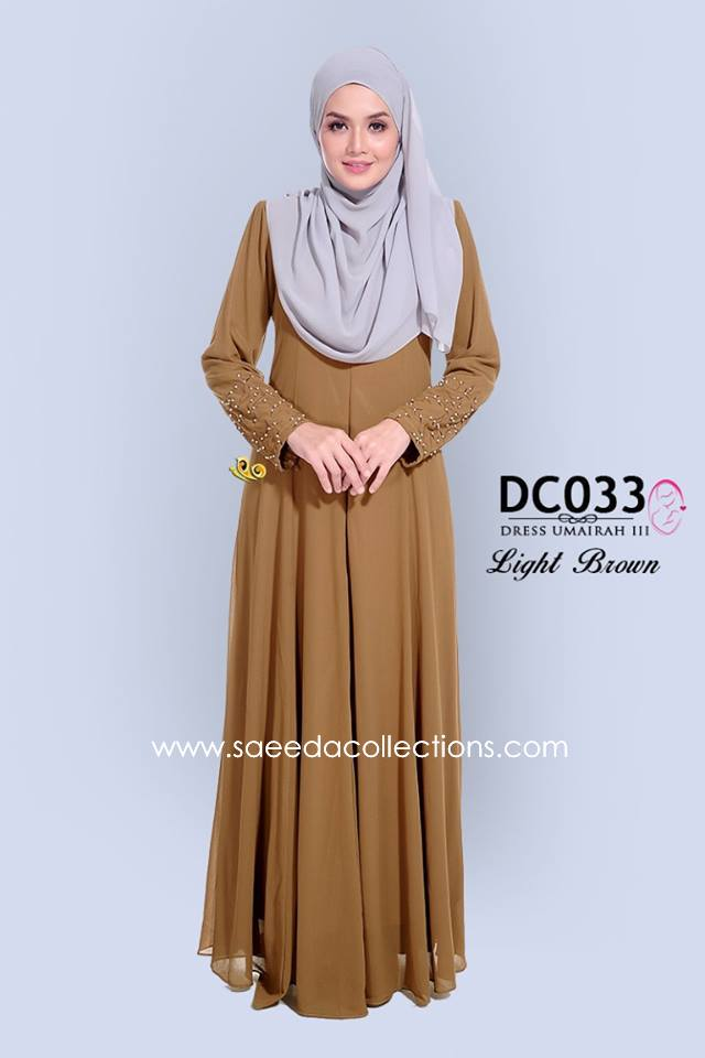 DRESS CHIFFON UMAIRAH DC033