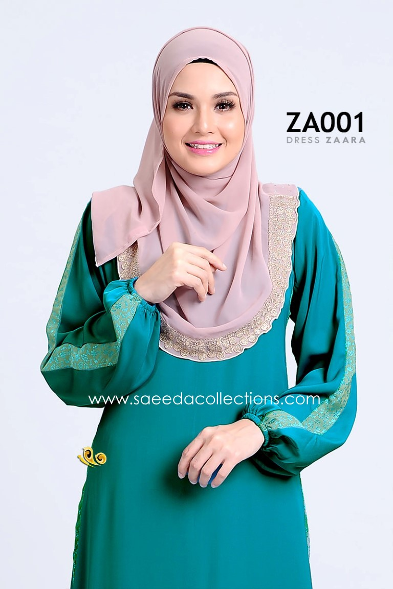 DRESS ZARAA SATIN ZA001 BB