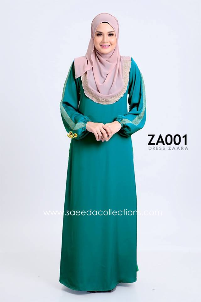 DRESS ZARAA SATIN ZA001