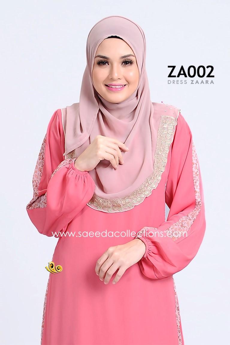 DRESS ZARAA SATIN ZA002 BB