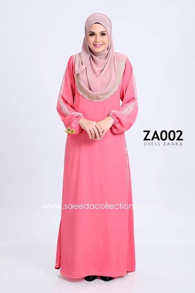 DRESS ZARAA SATIN ZA002