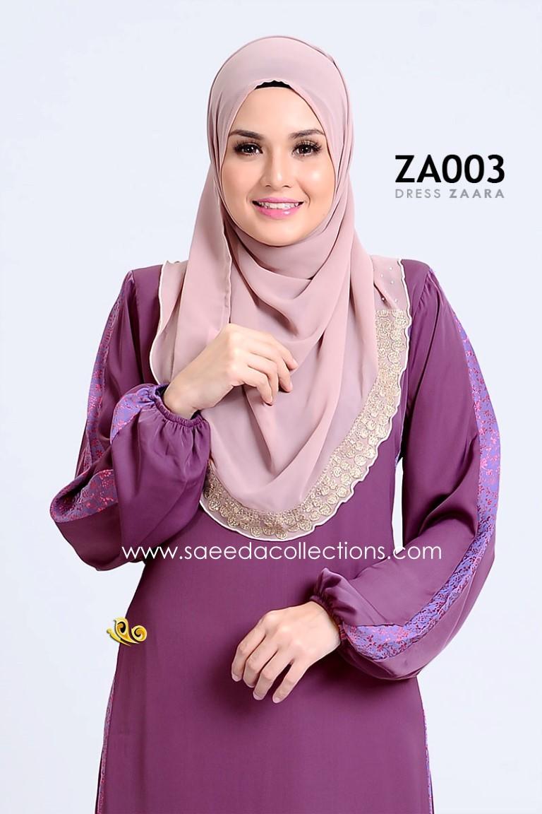 DRESS ZARAA SATIN ZA003 BB