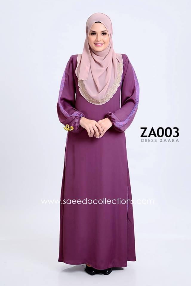 DRESS ZARAA SATIN ZA003