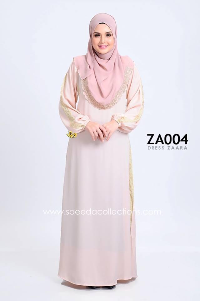 DRESS ZARAA SATIN ZA004