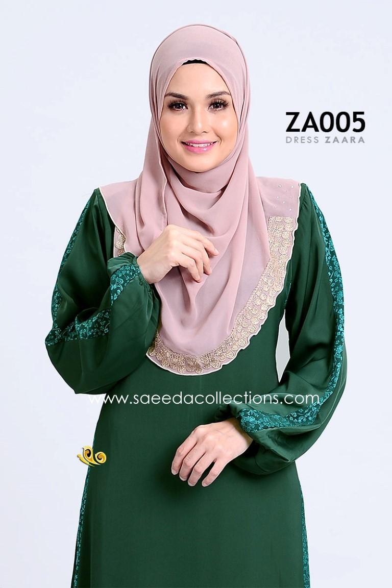 DRESS ZARAA SATIN ZA005 BB