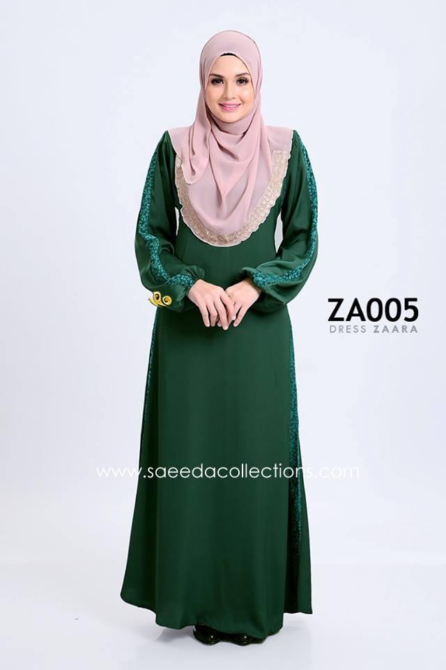 DRESS ZARAA SATIN ZA005