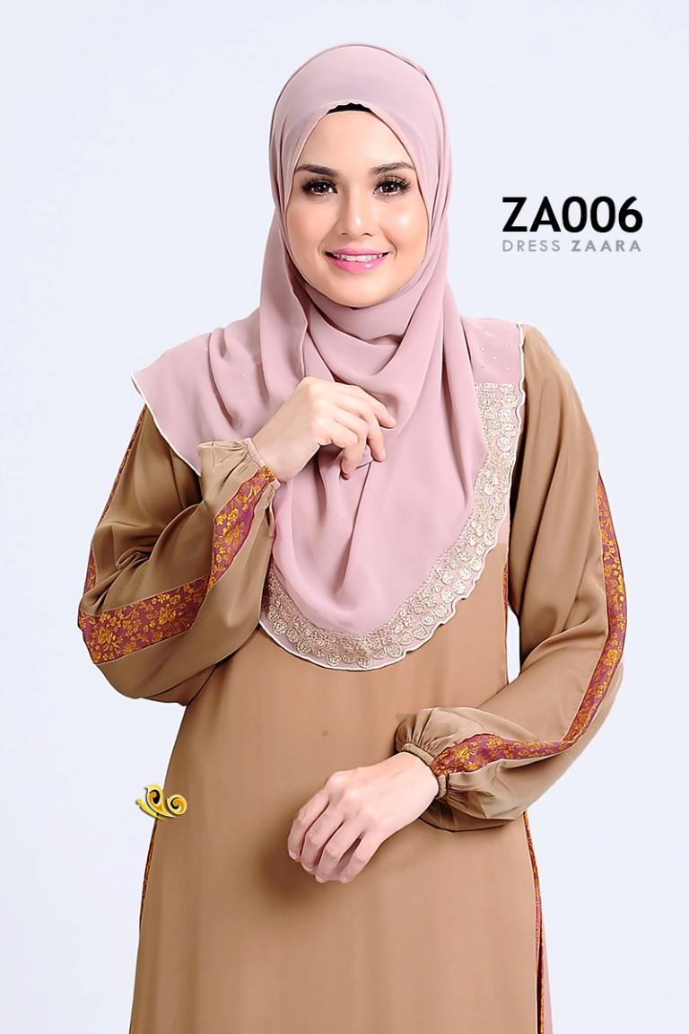 DRESS ZARAA SATIN ZA006 BB