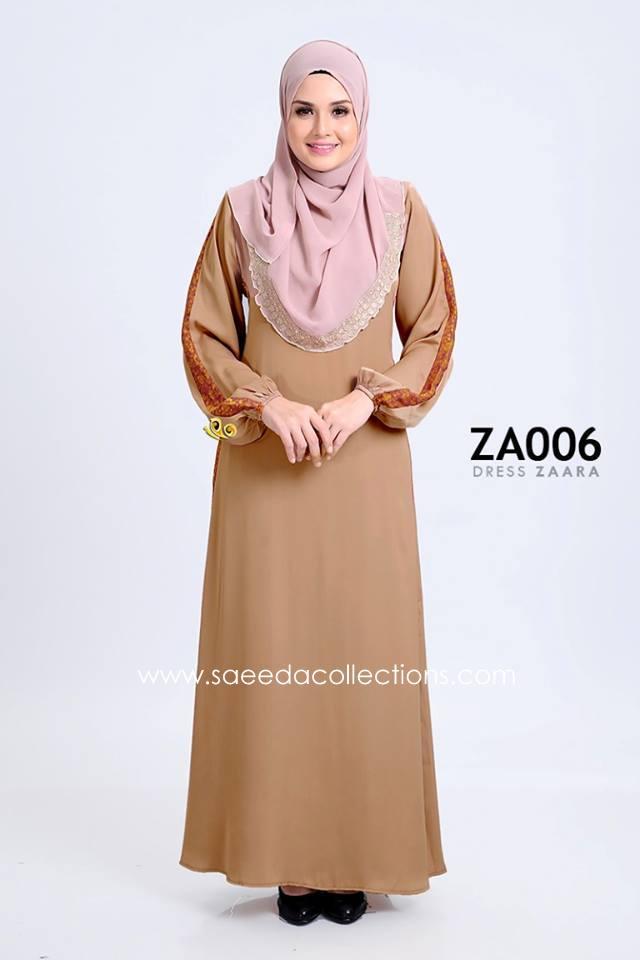 DRESS ZARAA SATIN ZA006