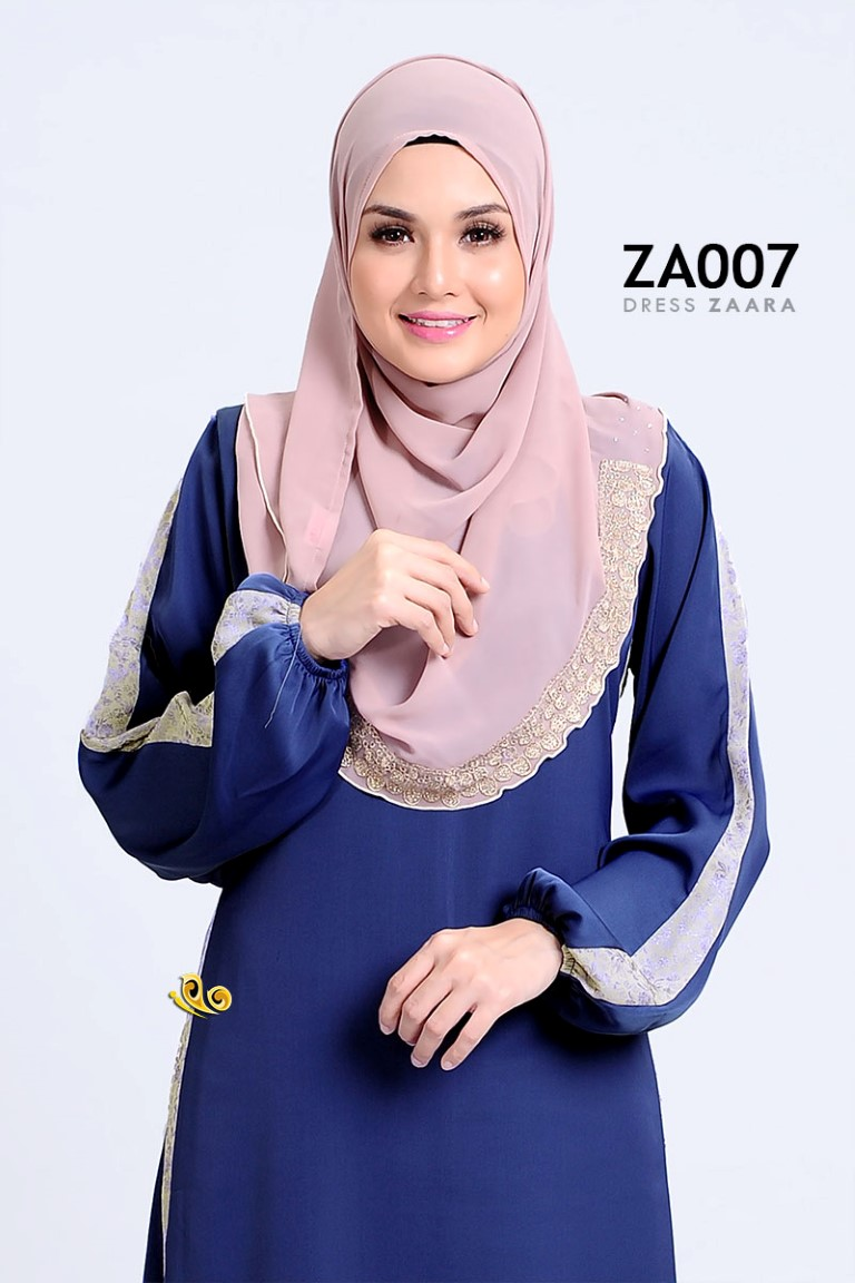 DRESS ZARAA SATIN ZA007 BB