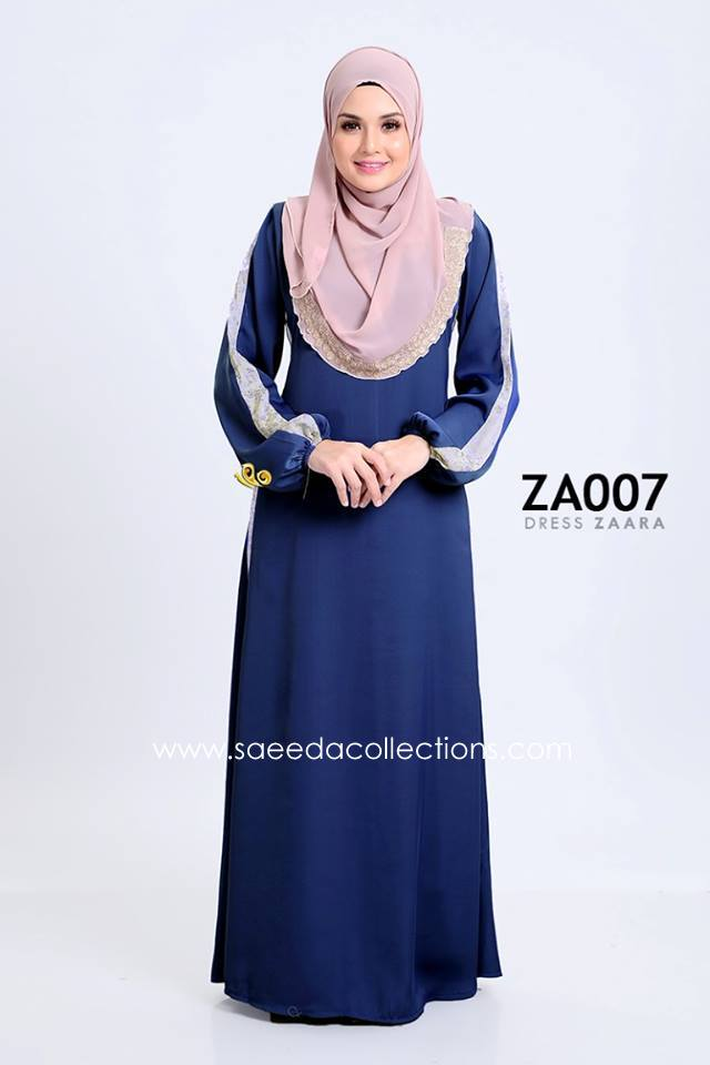 DRESS ZARAA SATIN ZA007