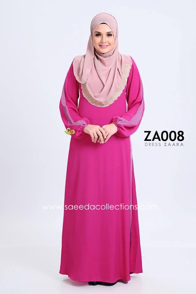 DRESS ZARAA SATIN ZA008