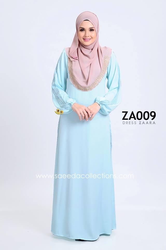 DRESS ZARAA SATIN ZA009