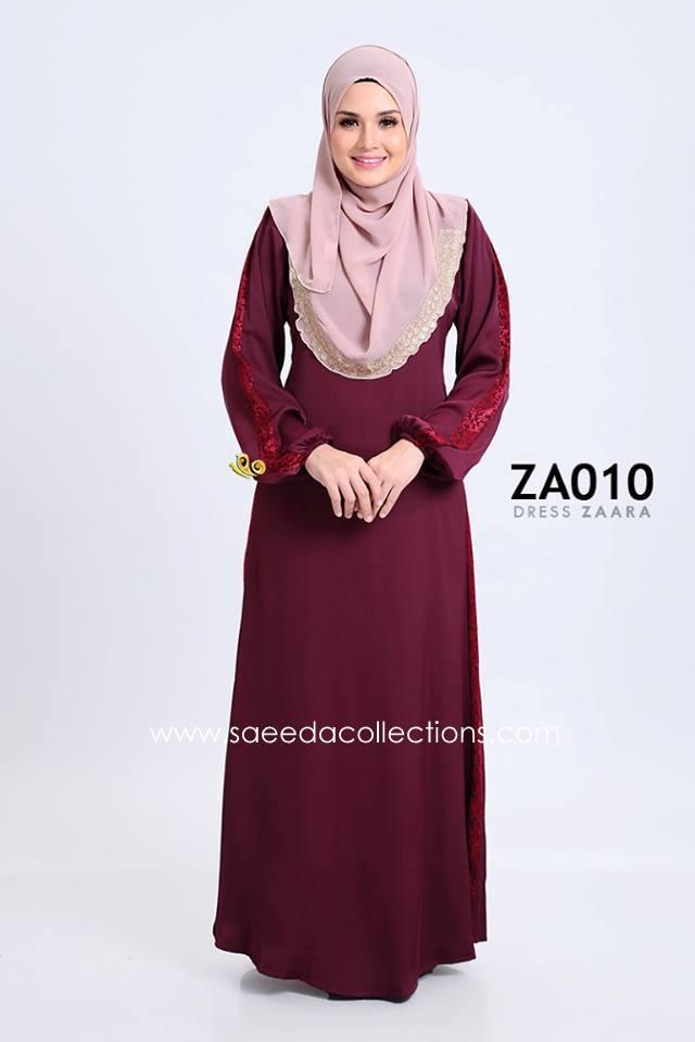 DRESS ZARAA SATIN ZA010