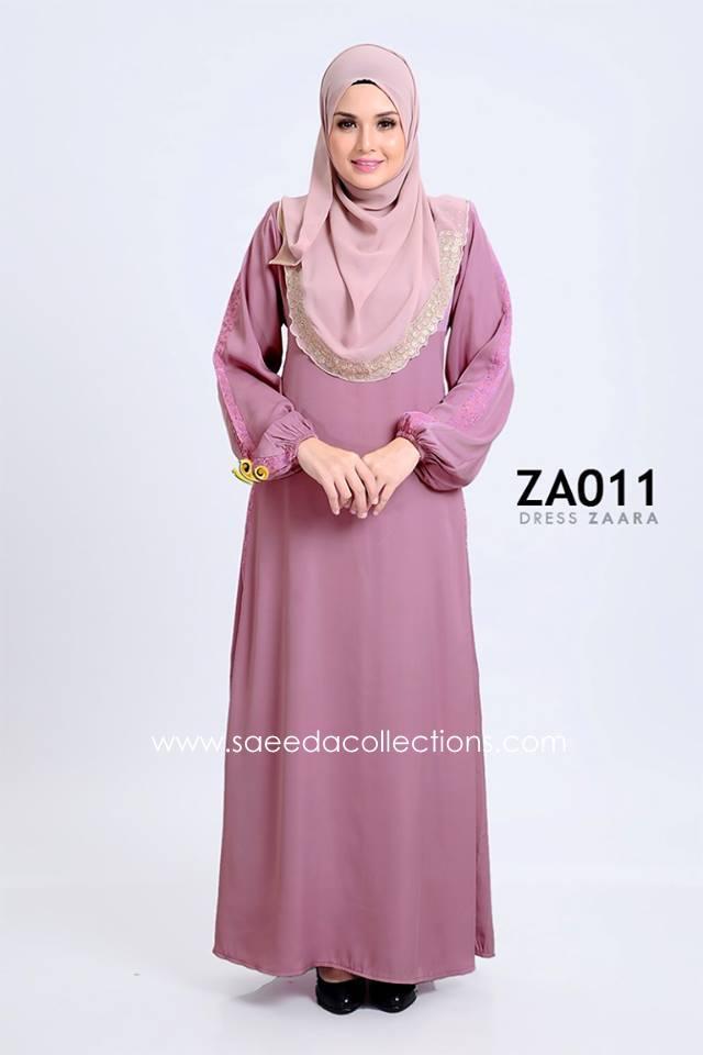 DRESS ZARAA SATIN ZA011
