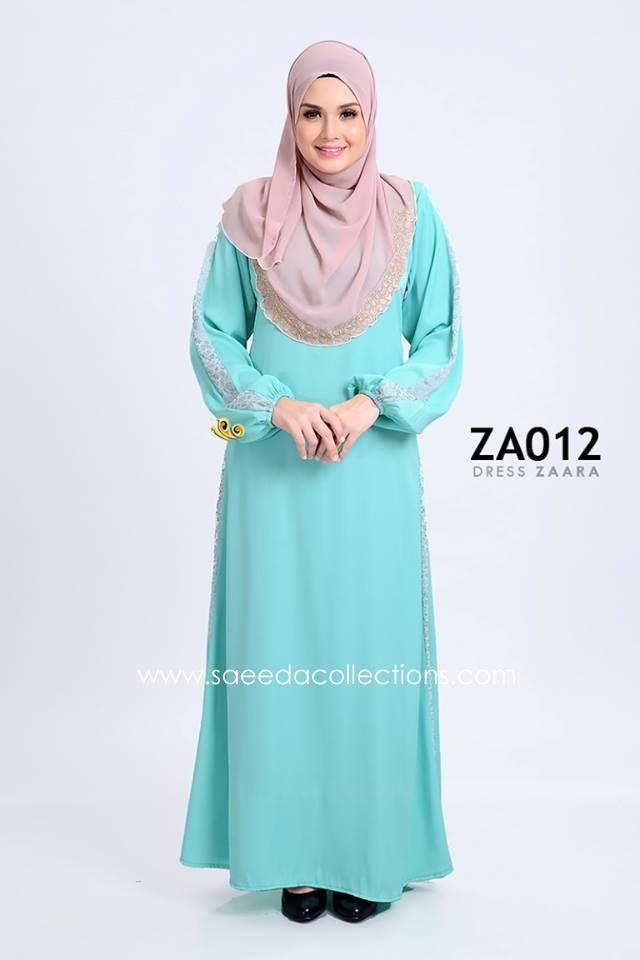 DRESS ZARAA SATIN ZA012