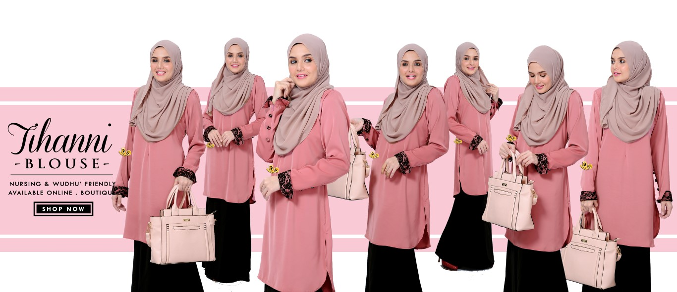 BLOUSE SATIN TIHANNI II ALL