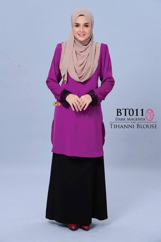 BLOUSE SATIN TIHANNI II BT 011 AA