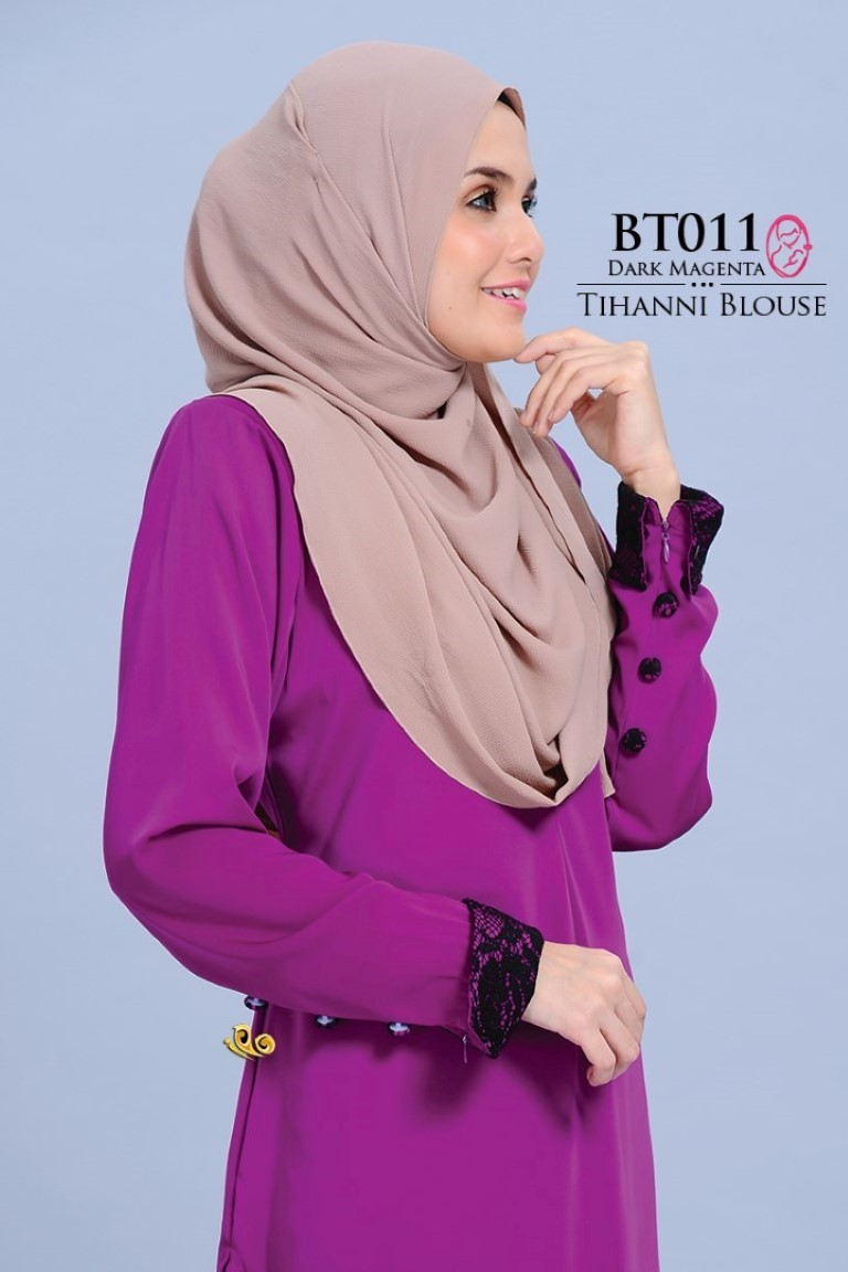 BLOUSE SATIN TIHANNI II BT011