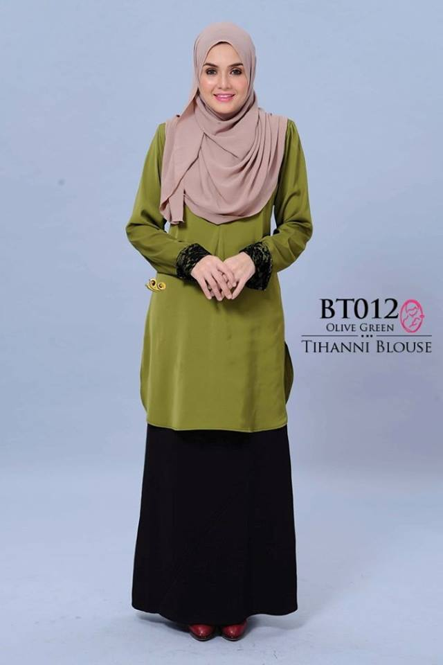BLOUSE SATIN TIHANNI II BT012