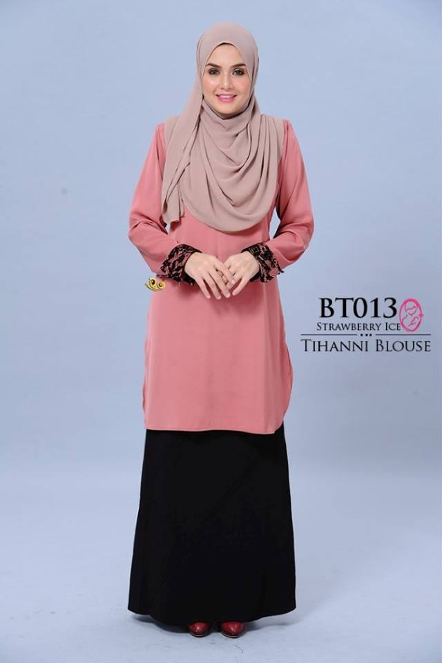 BLOUSE SATIN TIHANNI II BT013 AA