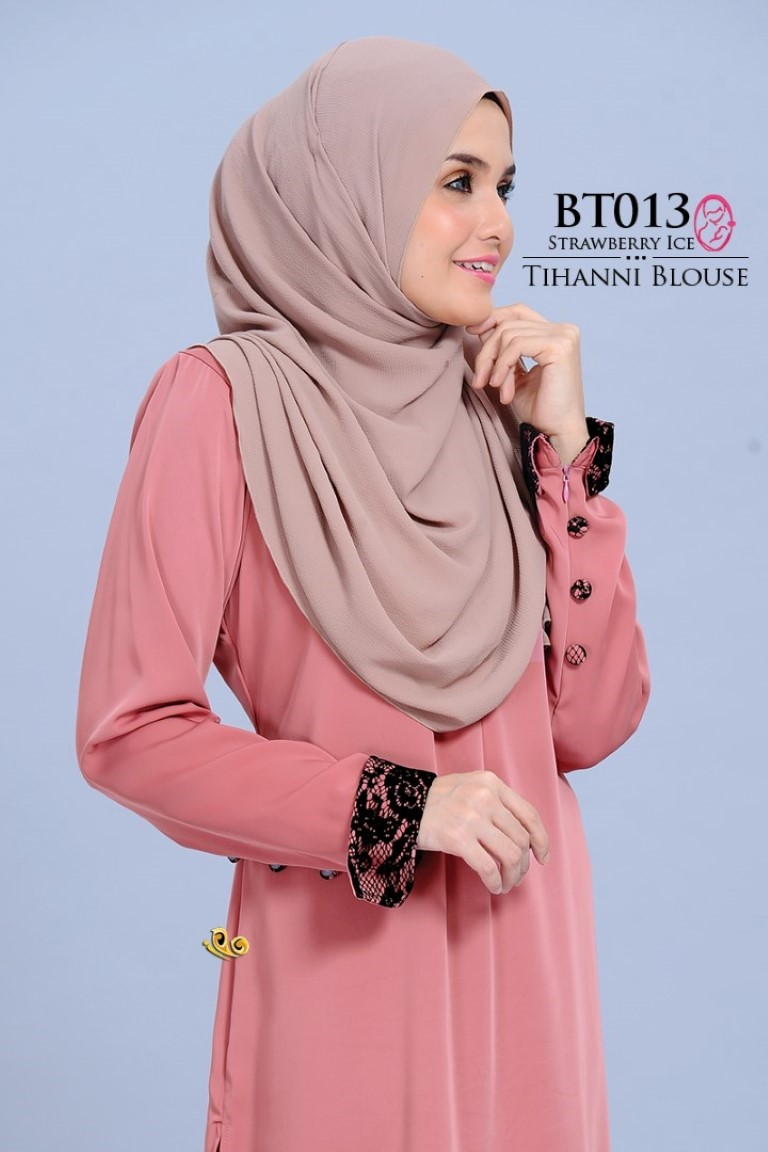 BLOUSE SATIN TIHANNI II BT013