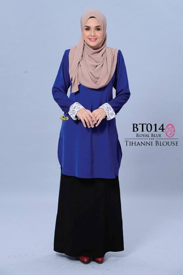 BLOUSE SATIN TIHANNI II BT014 AA