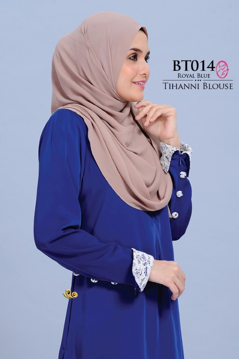 BLOUSE SATIN TIHANNI II BT014