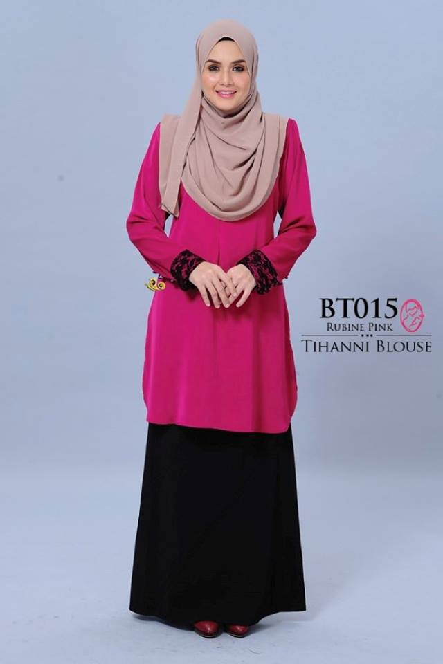 BLOUSE SATIN TIHANNI II BT015 A